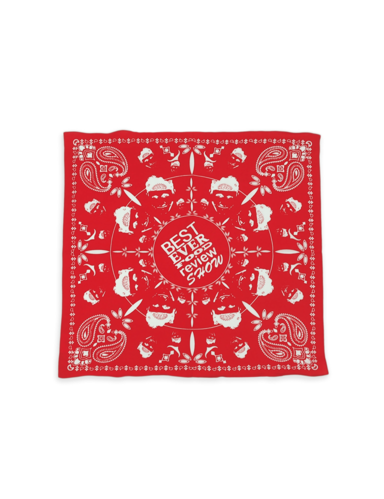 Sonny_s Bandanas - Top -Red-min